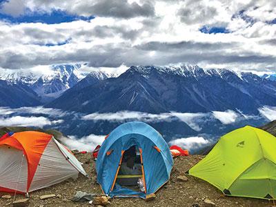 trekking/camping